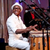 Pedrito Martinez. Photo by Tony Powell. 2015 YOA Pan American Gala. Four Seasons Hotel. April 30, 2015
